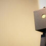 Robot som illustrerar digitalisering och automatisering.